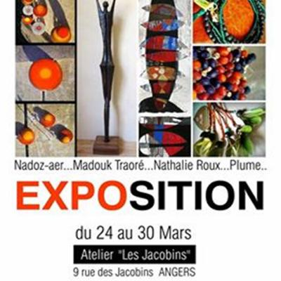 exposition angers - Galerie des Jacobains